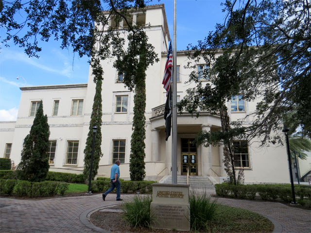 Downtown Orlando post office