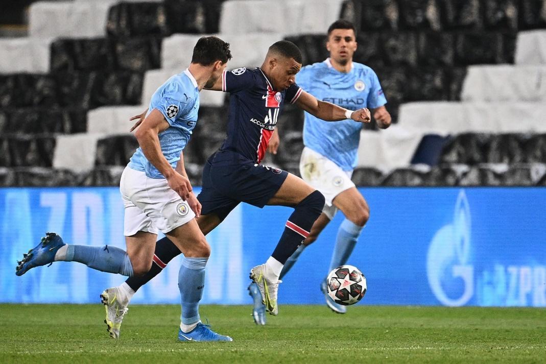 Man City đã xuất sắc đánh bại PSG 2-1 ở trận lượt đi