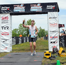 Photo: 4:22:24 - 7th place overall, Welland Half Ironman 2012