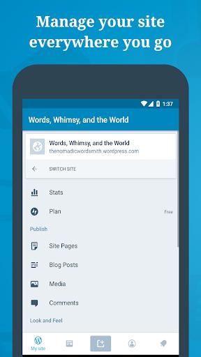 WordPress – Website & Blog Builder screenshot