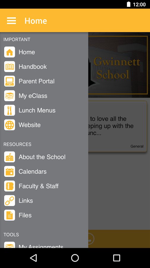 Central Gwinnett High- screenshot