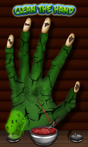 Witch Hand Spa- Monster Nails