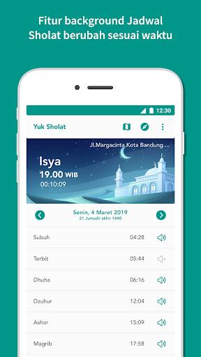 Yuk Sholat - Jadwal Sholat & Arah Kiblat screenshot