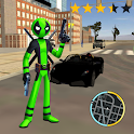 Green Pool Stickman Rope Hero Gangstar Mafia icon