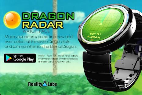 Dragon Radar - Watch Face - náhled