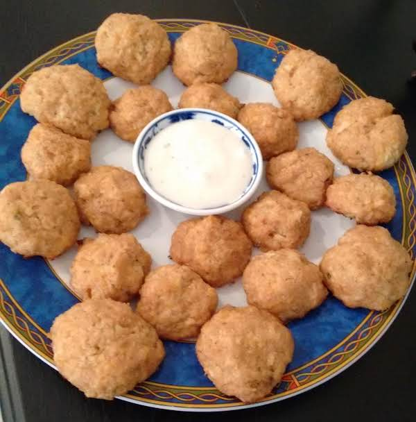 Cauliflower Cheese Bites