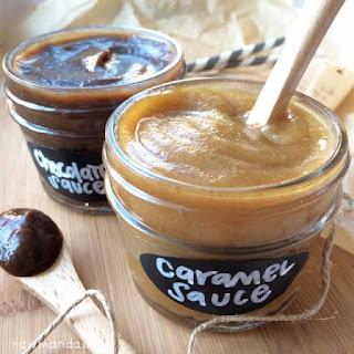 Caramel + Chocolate Sauce