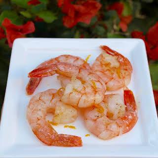 The Italian Diabetes Cookbook and a Recipe for Lemon-Scented Shrimp (Gamberi al Limone).