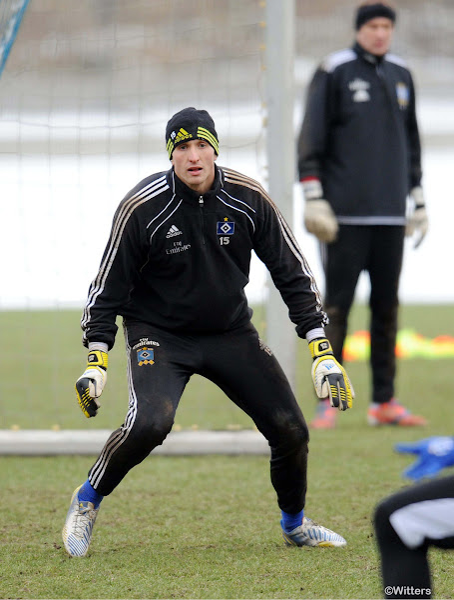 Photo: Torwart Rene AdlerFussball, Hamburger SV, Training