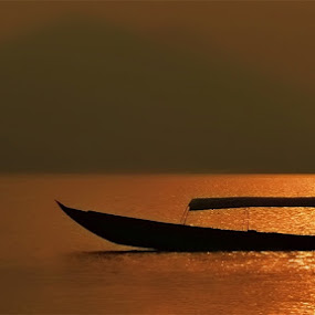 Go Home.. by Henry Novianto - Transportation Boats