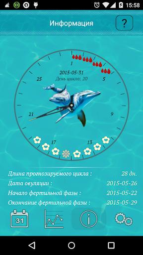 Женский календарь океан