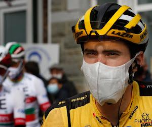 """Tom Dumoulin start met ambitie in de Vuelta: """"Als ik in de eerste week de beste van de ploeg ben, wordt er voor mij gereden"""""""