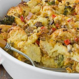 Sausage and Vegetable Breakfast Bake