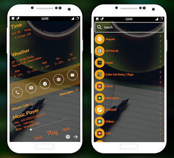 Classic launcher Pro - Theme, wallpaper, Fast - náhled