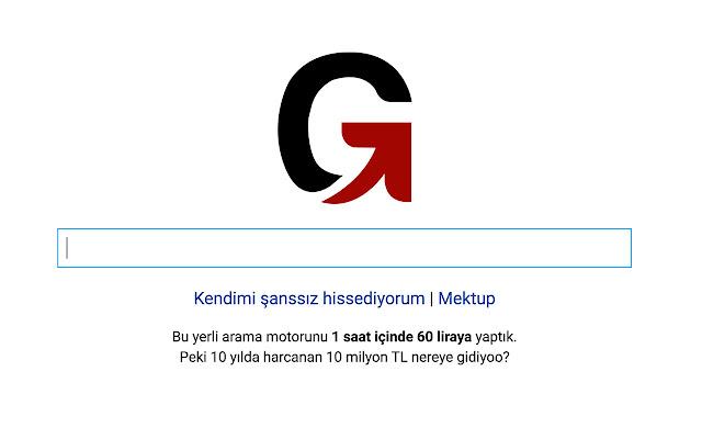 Gidiyoo - Yerli arama motoru (yersen)