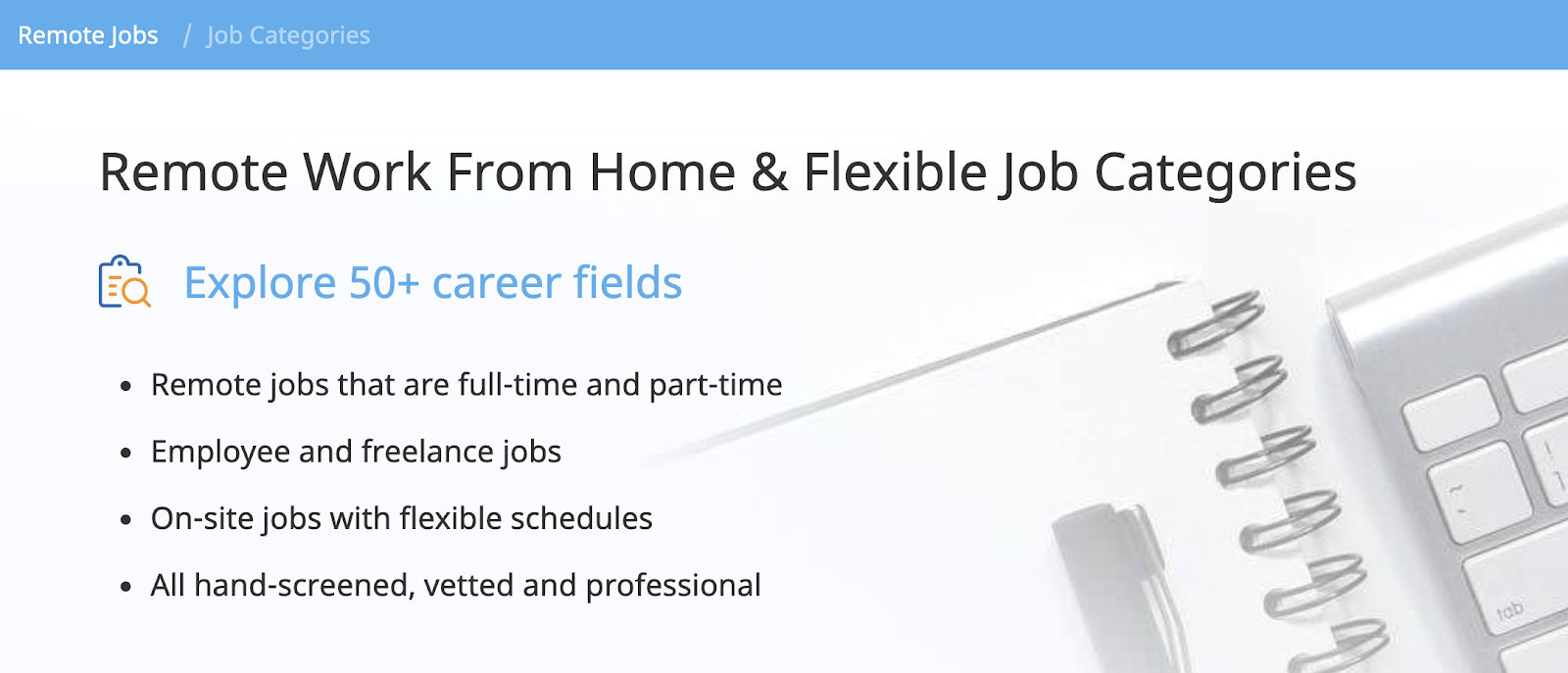 FlexJobs: a top remote job site globally