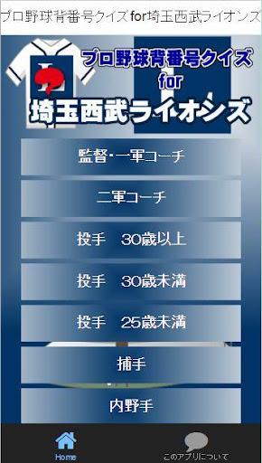 プロ野球背番号クイズforパ・リーグ埼玉西武ライオンズ