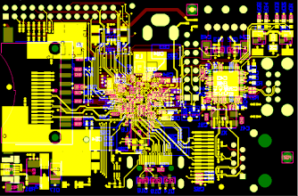 Photo: A visualisation of Raspberry Pi's printed circuit board. Learn more here: http://www.raspberrypi.org/