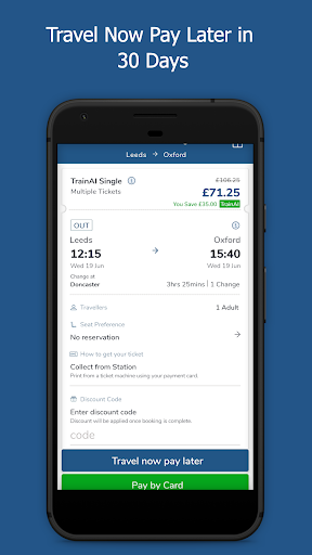 TrainAI - Cheaper UK Train Tickets 2.0.01 androidtablet.us 1