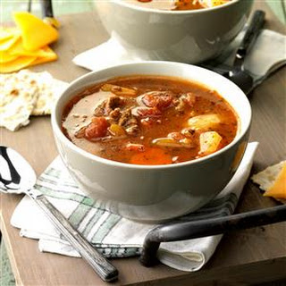 Beef Vegetable Soup With V8 Juice Recipes.