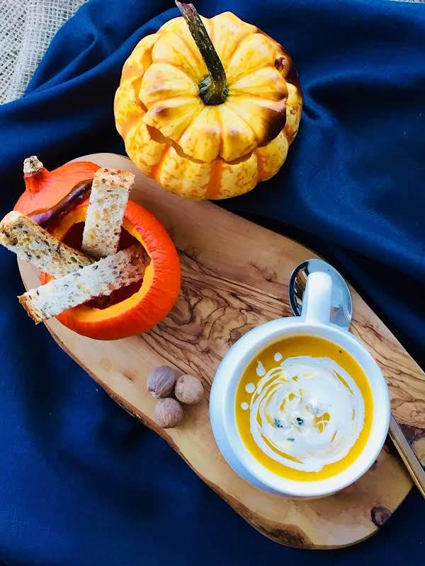 Creamy Roasted Apple And Pumpkin Soup Recipe