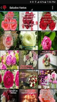 Saludos en Rosas Gratis