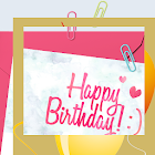Birthday Photo Maker icon