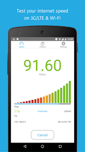 App Simple Speedcheck APK for Windows Phone