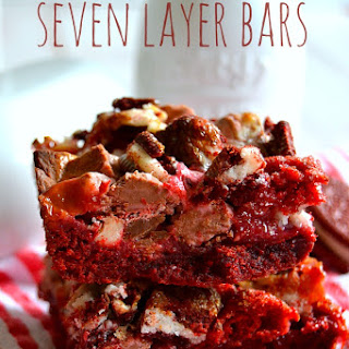 Red Velvet Seven Layer Bars