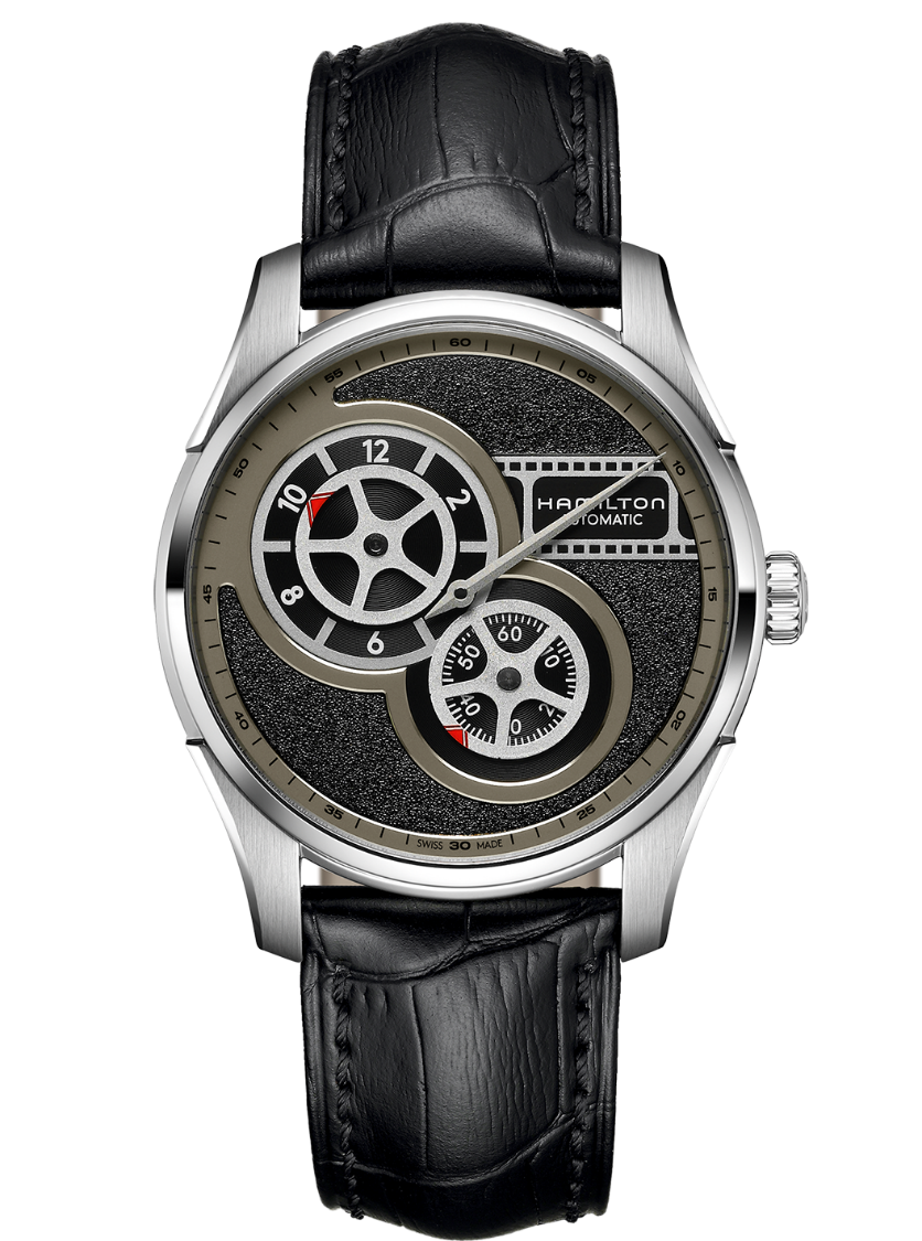 Jazzmaster Automatic Watch Regulator - Black Dial |Hamilton Watch ...