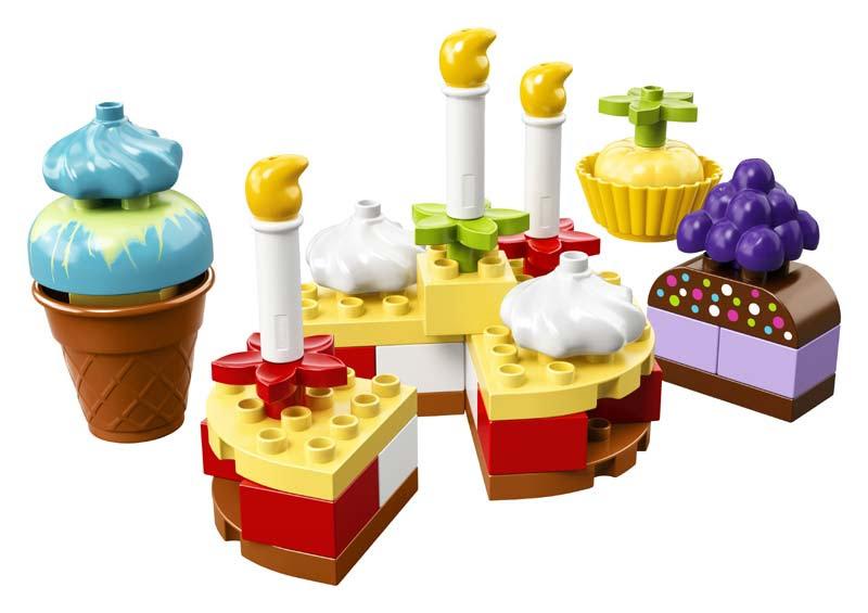 Contenido de Lego® 10862 Mi Primera Celebración