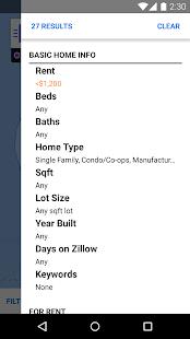 Zillow Rentals - Houses & Apts- screenshot thumbnail