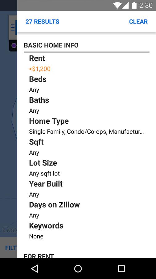 Zillow Rentals - Houses & Apts- screenshot