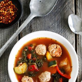Meatball and Veggie Soup
