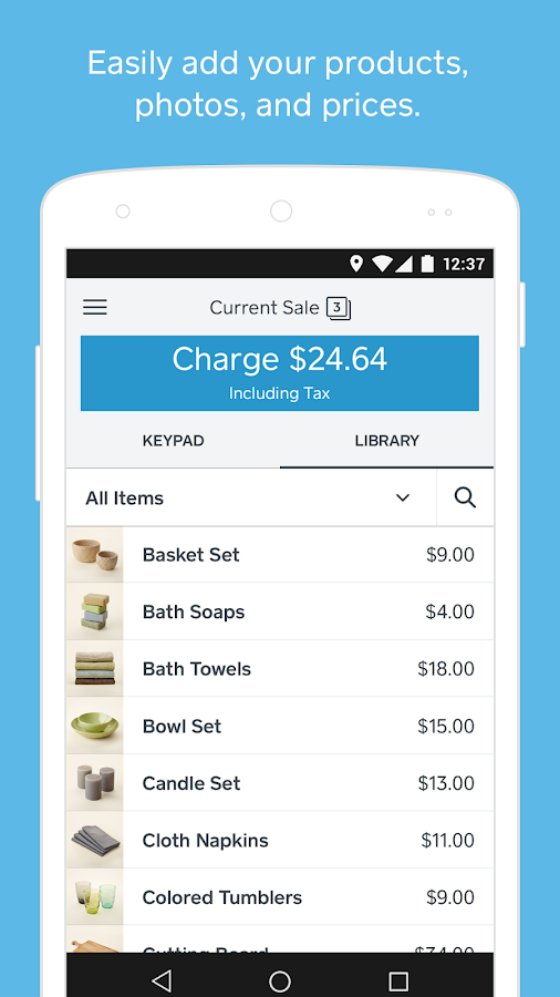 Square Register - POS- screenshot