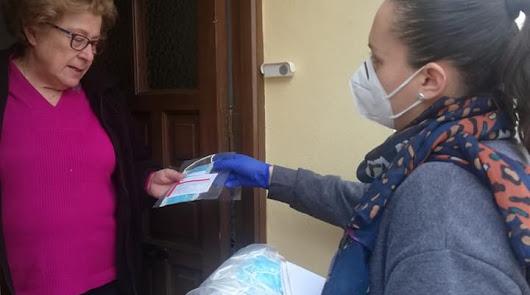 Instinción se protege: el Ayuntamiento reparte 300 kits entre los vecinos