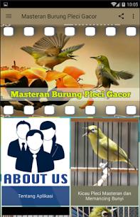 Masteran Burung Pleci Gacor 2.3.7 APK Mod for Android 2