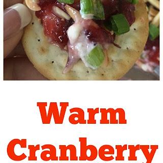 Warm Cranberry Spread.