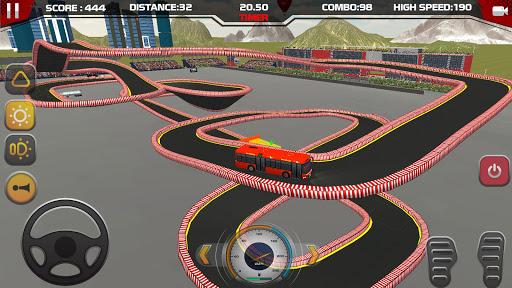 Modern City coach Bus Parking Stunt Game 2020 android2mod screenshots 7