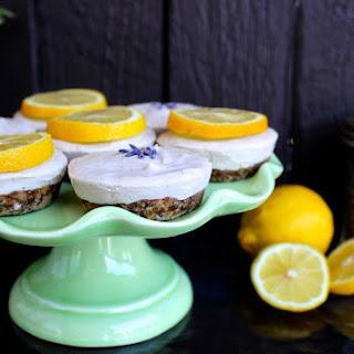 Lemon Lavender Cakes (Vegan)