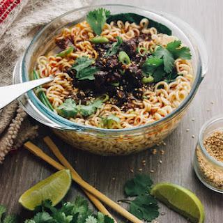 "Chorizo Dan Dan Noodles ""Mexican Style"""