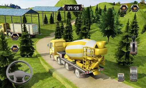 Big Euro Truck Parking Legend: Truck Parking Games 1.8 screenshots 5