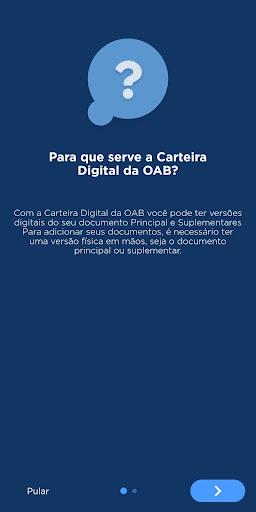 Carteira Digital da OAB screenshot 1