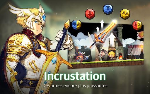 Crusaders Quest  captures d'u00e9cran 2