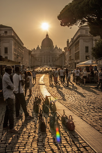 St Peters by Alex Barrow - City,  Street & Park  Historic Districts ( , people, crowd, humanity, society, Urban, City, Lifestyle )