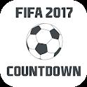 Countdown FIFA 2017 icon