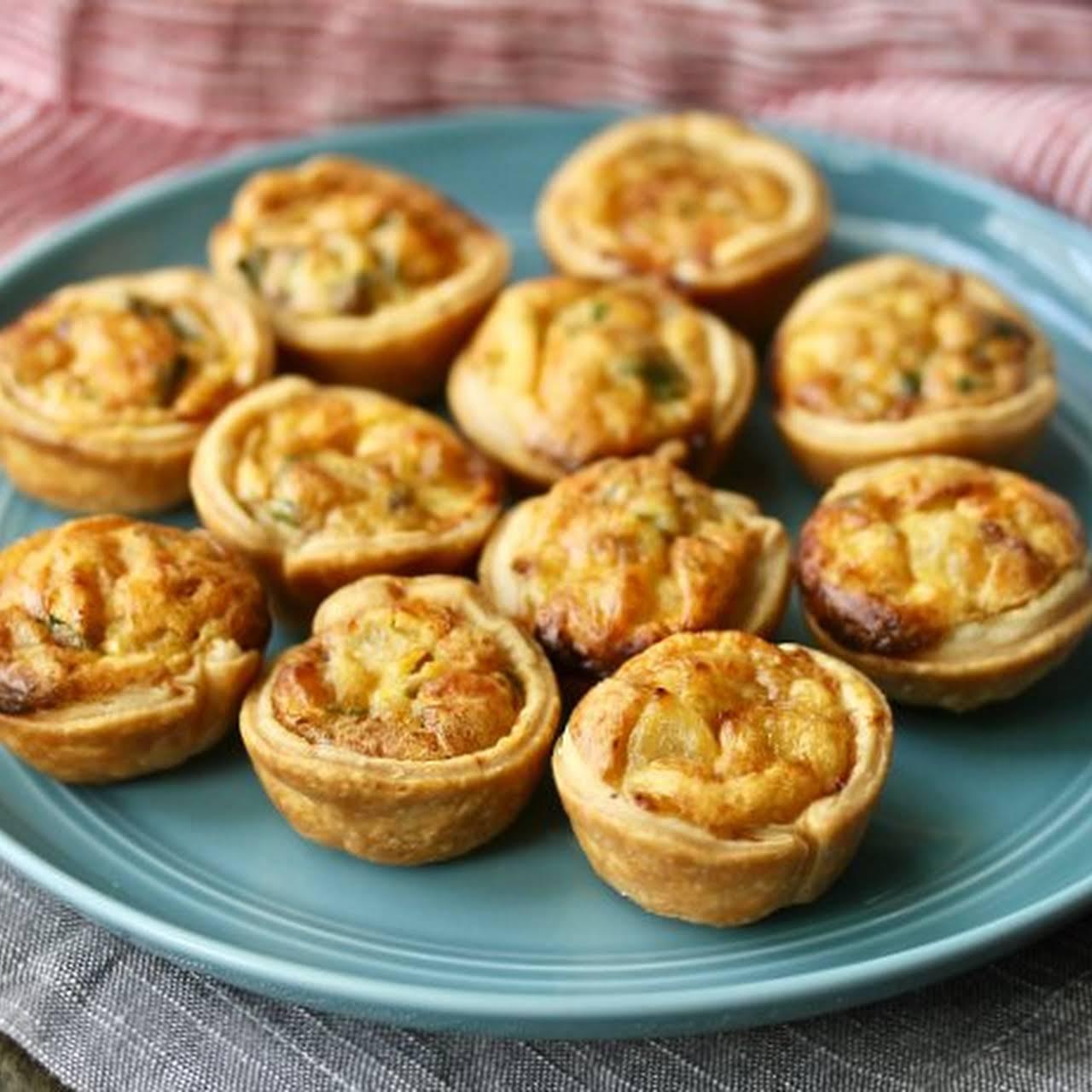 Mini Quiche Lorraine Appetizers