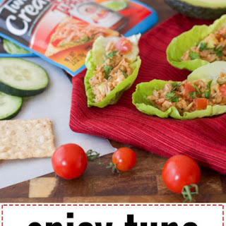 Spicy Tuna Lettuce Cups (Gluten and Soy Free).