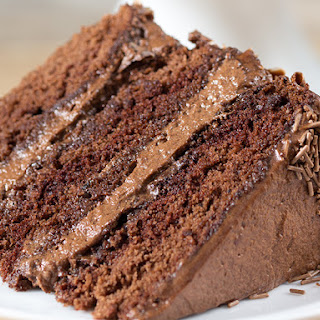 Chocoholics Chocolate Mousse Cake.
