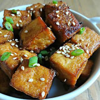 Asian Baked Tofu.